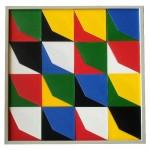 Pexagram carrés 2 couleurs