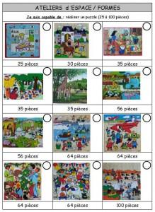 brevets puzzles GS 1