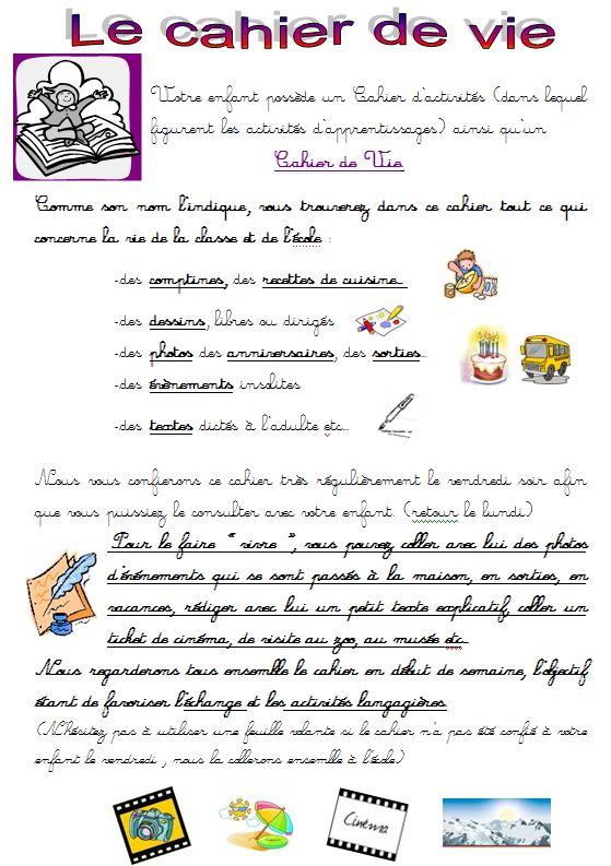 Bien-aimé Cahiers: pages de garde - Objectif MaternelleObjectif Maternelle RW23