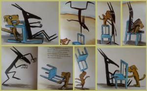 La chaise bleue2
