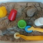 Sable magique (ou sable à modeler)